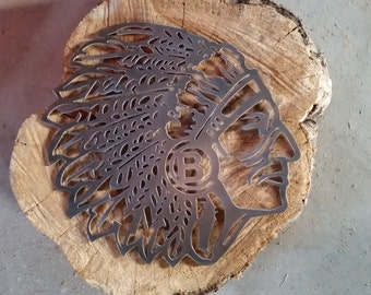 Chieftain Head Wall Hanging