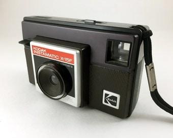 Kodak Instamatic X-15F camera for 126 film.
