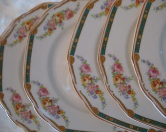 In England The Lindbay bread plates 6