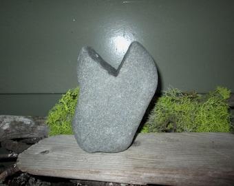 Natural Heart Shaped Rock - Beach Stone Heart - Love Rock - Wedding - Anniversary - Zen HR90
