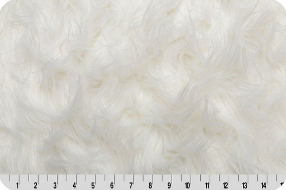 faux fur fabric gorilla fur fabric in white by shannon. Black Bedroom Furniture Sets. Home Design Ideas