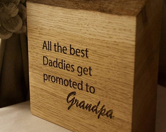 All The Best Daddies Get Promoted To Grandpa