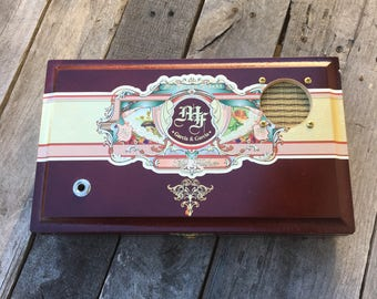 Cigar Box Bluetooth Speaker, Guitar Amplifier, Wired Speaker, Handmade Portable Amp - My Father Cigars