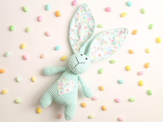 Cotton Tail Bunny Crochet Pattern