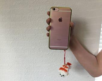 Cell phone antidust plug ( shrimp)