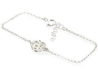 Star Dust little sterling silver bracelet