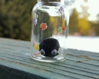 Soot Sprite in a Bottle