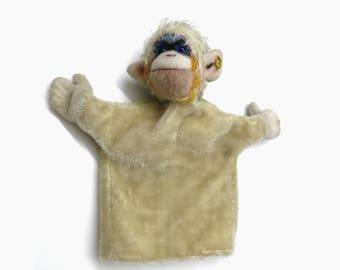 Old Steiff Hand Pupped | Monkey Mungo | Vintage