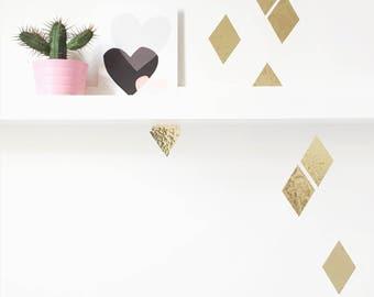 Wall Sticker Shiny Diamonds