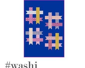 Quilt Pattern - #washi - PDF file