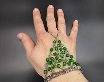 Green Handflower