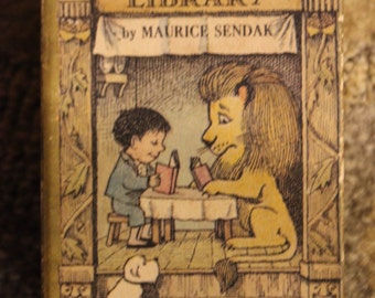 Nutshell Library | 4-Volume Booklet Set: Alligators All Around, Chicken Soup With Rice, One Was Johnny, Pierre - Maurice Sendak (1962)