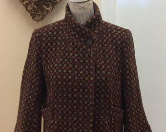 Lovely fitted vintage wool jacket