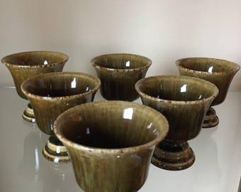 Vintage Thai Celadon cups