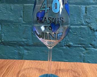 Personalised 40th Birthday Present