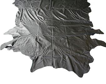 Glacier Wear Cow Leather Buckskin Hide Black lth1156