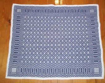 Hand Woven Cotton Baby Blanket