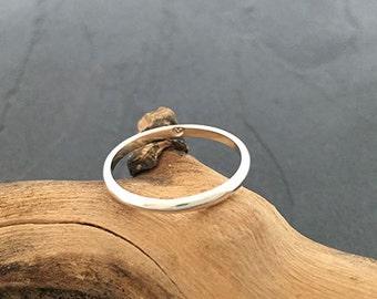 Skinny Secret Heart Ring