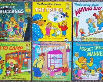 Berenstain Bears Book Lot of 12 - Childrens Picture Books -  Paperback Kids Books -  Storytime Book Lot