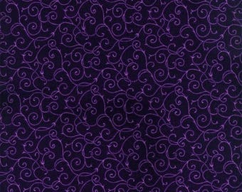 Purple Scroll Fitted Crib Sheet // Fitted Cot Sheet // Cot Sheet // Baby Shower Gift // Baby Gift