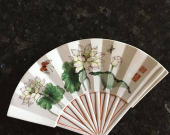 Fan Shaped Plate The Toscany Collection