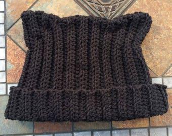 Black Kitty Kat hat