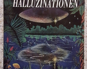 True hallucinations of Terence McKenna 1989 Psilocybin experience in the Amazon