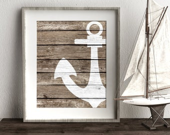 Nautical Bathroom Etsy