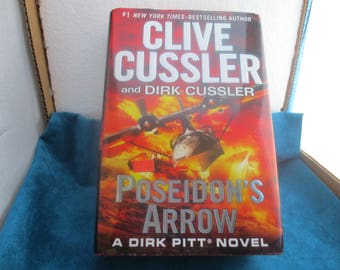Clive Cussler,  POSEIDONS ARROW First Ed. 2012  New Book
