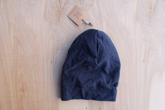 Baby slouchy beanie- navy- slouchy hat- baby slouchy toque- hipster baby clothes- trendy baby clothes- gender neutral