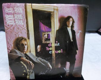 Vintage Cheap Trick 45 Record from 1988, Don't Be Cruel, 0417T