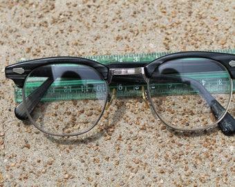 50s Black Eye Glasses, Silver Detail, Hollywood Regency Eyeglasses, Retro Eyewear, Retro Frames, Cat Eye Frames, 50's Fashion Eyewear