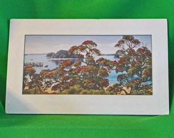 10 X 16 Janet Bothner-By Oil Painting Print, Paihia, Bay Of Islands, NZ