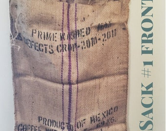 Authentic Coffee Burlap Sacks
