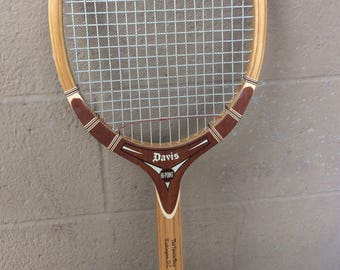 Davis Hi Point Wood Tennis Raquet, 27""
