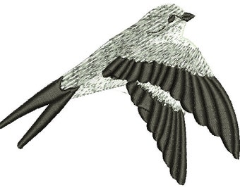 swallow  Machine Embroidery Design Instant Download