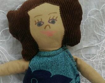 """Oscha Mama 17"""" Rag doll"""