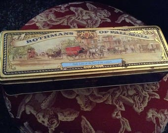Rothmans of Pall Mall cigarrette tin ON SALE,