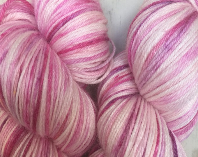 Flossy  100grams Superwash 80/20% Merino and Bamboo 4 ply wool -