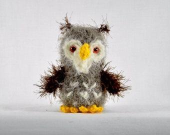 Owl Hildegard Amigurumi Crochet Pattern