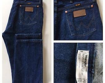 SALE Wrangler Jeans - Premium Blue Denim Size 34 x 34