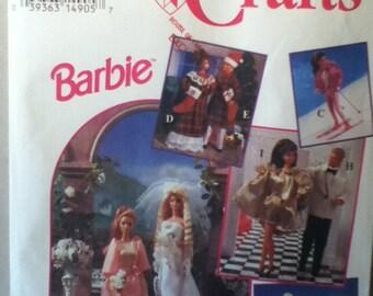 Simplicity Barbie Wardrobe Pattern 8797