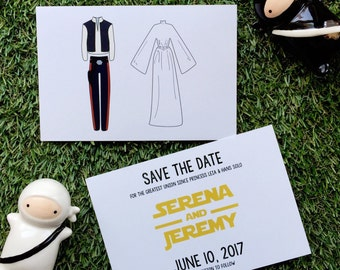 Save the Dates {Star Wars Theme}