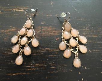 Layered chandelier earrings