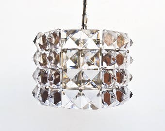 Mid Century  Crystall Tube  Pendant Lamp / Ceiling Light  / Chandelier
