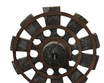 Antique Charkha Spinning Wheel from Golden Era of Mahatma Gandhi