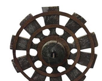 Antique Charkha Spinning Wheel from Golden Era of Mahatma Gandhi