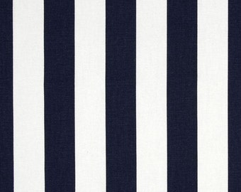 Custom Shower Curtain //  Premier Blue Stripe // Stall// Choose Size // Buttonholes// 72 x 72 // Extra Wide or Narrow