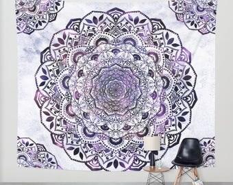 STARLIGHT MANDALA - Bohemian Wall Tapestry