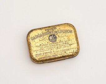 1930s french tin box
